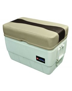 Wise Talon 48 qt. Igloo Cooler Seat/ Ottoman, Mocha Java-Cafe-Brown