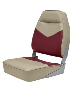 Mid-Back Contoured Foam Boat Seat - Wise
