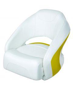 Wise Bolster Bucket Seat, Cuddy Brite White-Zander Yellow 8WD1217-1741