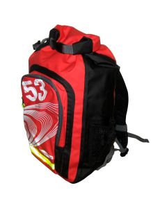 Ronstan 26L Roll-Top Dry BackPack - Black/Red