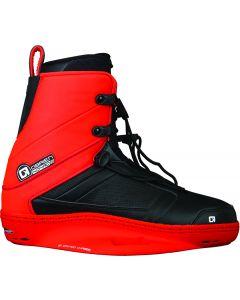O'Brien Nomad Bindings, Red/Black, Size 9-11, Pair