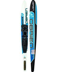 "O'Brien Impulse Slalom Ski w/X9 XS Binding (Size 4-7), 66"""