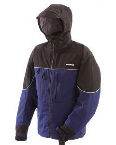 Frabill F3 Gale Rainsuit Jacket (Blue, Large)