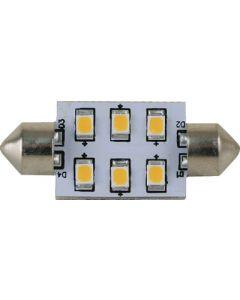 Scandvik LIGHT FESTOON 37 MM 6 LED WW