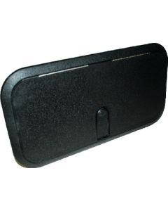 """T-H Marine Supply Designer Series Access Hatches - Non-Locking, 12-7/8"""" x 23-3/4"""" Black"""