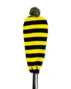 SurfStow Blade Beanie w/fuzz ball - Yellow
