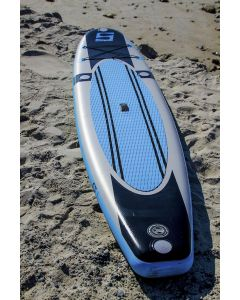 "SurfStow 11' X 30"" X 6"" Inflatable Stand Up Paddle Board (SUP) with Pump and Aluminum Paddle"