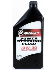 Genuine Mercury Synthetic Power Steering Fluid Qt - 858077K01
