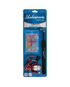 Shakespeare® Complete Spinning Telescopic Kit