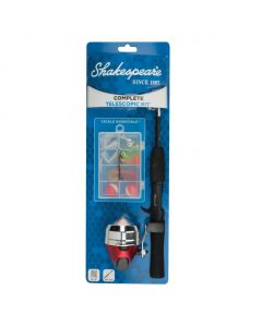 Shakespeare® Complete Spincast Telescopic Kit