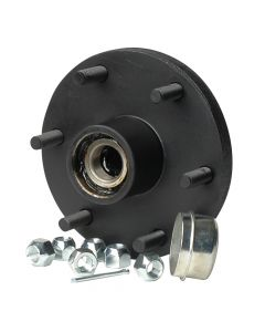 CE Smith C.E. Smith Trailer Hub Kit - Tapered Spindle - 6x5.5 Stud - 1,750lb Capacity