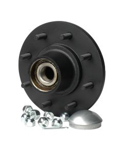 CE Smith C.E. Smith Trailer Hub Kit - Tapered Spindle - 8x6.5 Stud - 3,500lb Capacity
