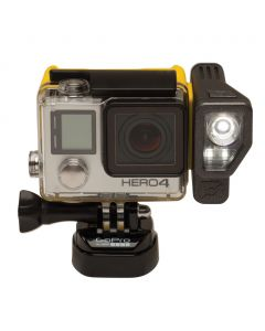 Brunton All Night Extended Battery and Lighting System for GoPro, Black