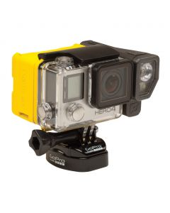 Brunton All Night Extended Battery and Lighting System for GoPro, Yellow