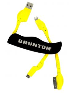 Brunton Power Pack Multi Charger Knife, USB Micro, iPhone 4 & 5 Tips