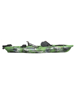 Old Town 2016 Predator XL, Fishing Kayak, with Minn Kota Motor Console, Lime Camo