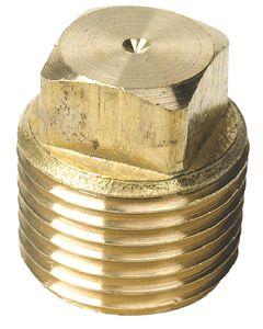 Seachoice Drain Plug, Brass, 1/2