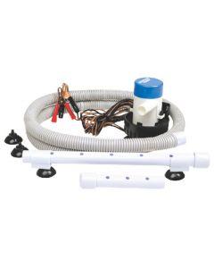 Seachoice 600 GPH Livewell Aerator Pump; Dia. Inlet, Single Dia. outlet
