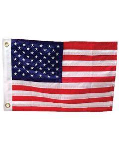 "Seachoice US American Boat Flag Sewn, 12"" X 18"""