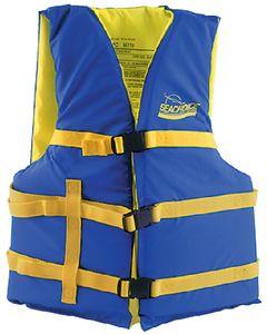 Seachoice Life Vest, 30 -48 , Universal, Blue/Yellow