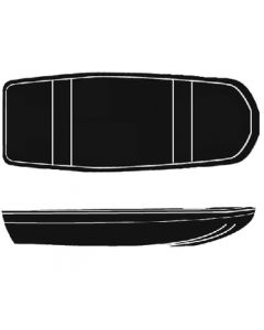 Seachoice 16' 6 X 72 Jon Bass Boat Cover