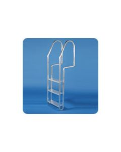Dock Edge 3-Step Aluminum Ladder With Quick Release