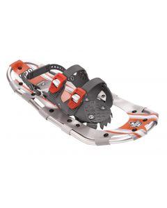"Yukon Charlie's Sherpa Series Snowshoe, 8"" x 25"", Titanium / Orange"
