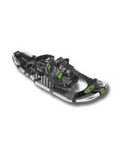 "Yukon Charlie's Elite Series Snowshoe, 8"" x 25"", Carbon / Green"