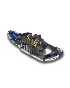 "Yukon Charlie's Elite Series Snowshoe, 8"" x 25"", Carbon / Blue"