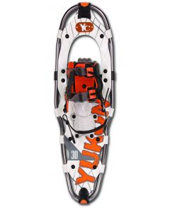 "Yukon Charlie's Advanced Series Snowshoe, Mens, 9"" x 30"", Titanium"
