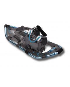 """Yukon Charlie's Advanced Series Snowshoe, Womens, 8"""" x 25"""", Aqua"""