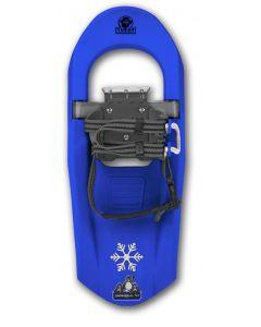 "Yukon Charlie's Junior Molded Snowshoe, 7"" x 16"", Ballistic Blue"