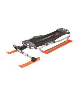 Yukon Charlie's Hammerhead Pro Snow Sled, Orange