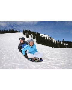 "Airhead Shred Time 49"" Foam Snow Sled, 2 Rider"