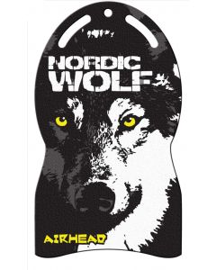 Airhead Nordic Wolf Snow Carpet Sled