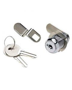 Seachoice Cam Lock Set, 1 1/8 , Chrome Plated