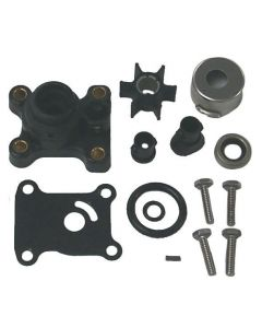 Sierra 18-3327 - Water Pump Repair Kit w/ Housing for Johnson/Evinrude Outboard, Replaces 394711, 386697, 391698, 387610, 389112