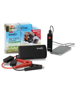 Weego Heavy Duty Jump Starter Battery+ with Bonus Battery Pack