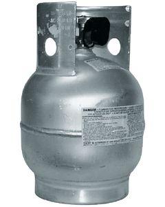 Trident Rubber Inc., 10 Lb Vertical Aluminum Tank, Grill Accessories