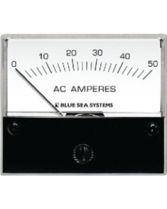 "Blue Sea Systems AC Analog Amp Meter 0-50A, 2-3/4"" Face"
