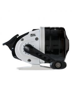 Abu Garcia® Abumatic® S Spincast Reel, Size: 10 - Mono Capacity: 110 yd / 8 lb - Clam