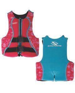 Stearns Puddle Jumper Youth Hydroprene Life Vest - Pink