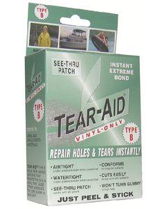 Tear-Aid Repair Patches Repair Kit, Type B, Vinyl Repair Only