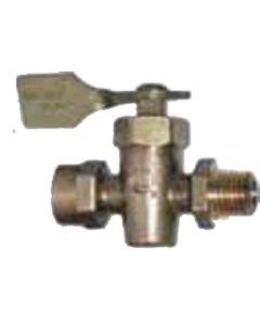 Racor U.L. Listed Brass Shut-Off Ma Turbine Retrofit Drain Valve