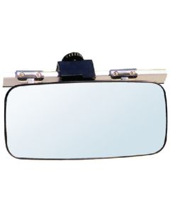 Cipa Mirrors Universal 14 x 7 Rear View Boat Mirror; Windshiled/Frame Mount