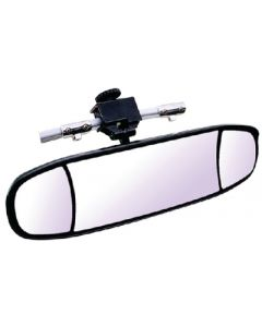 """Cipa Mirrors Extreme Wakeboard 3-Lens 20 x 6"""" Rear View Boat Mirror; Windshield/Frame Mount"""