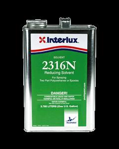 Interlux 2316N Marine Reducing Solvent, Quart