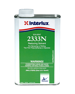 Interlux 2333N Marine Reducing Solvent, Quart