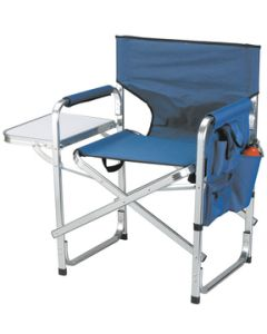 Stylish Camping DELUXE CAMPING CHAIR BLUE