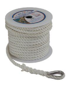 Seadog ANCHOR LINE WHITE 3/8 X100'